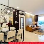 Thiết kế nội thất căn hộ chung cư Golden Mansion