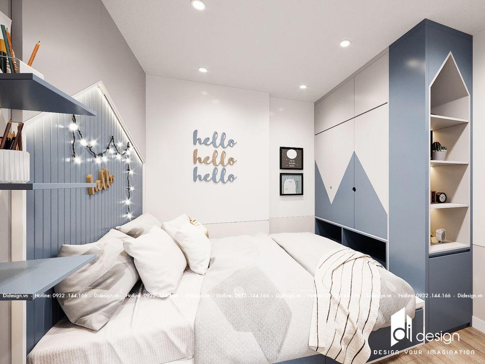 Thiết kế nội thất căn hộ chung cư Mizuki Park 72m2