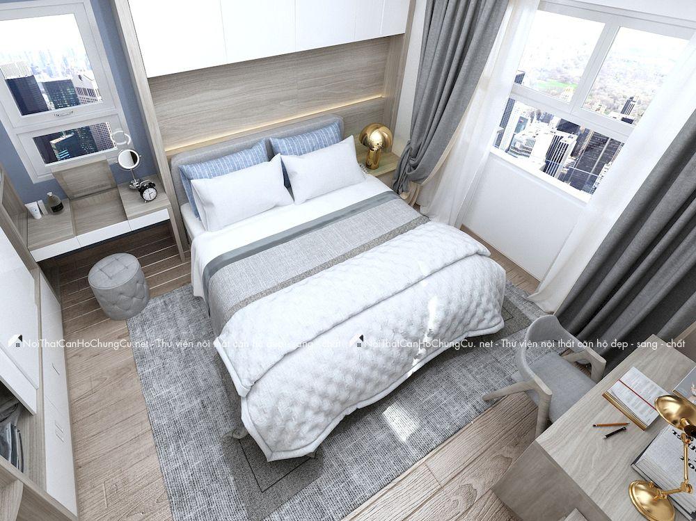 Thiết kế nội thất căn hộ chung cư 89m2 The Western Capital