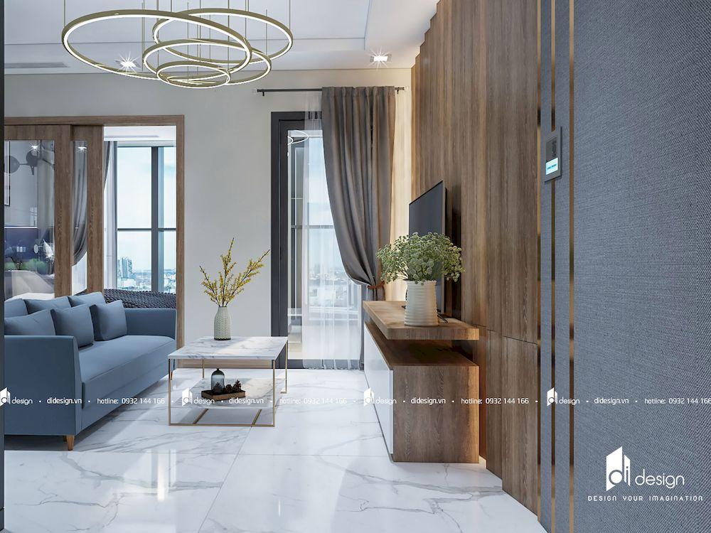 Thiết kế nội thất căn hộ 48m2 Vinhomes Landmark 81