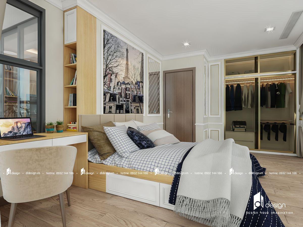 Thiết kế nội thất căn hộ Cityland Park Hills 160m2 Tân Cổ Điển