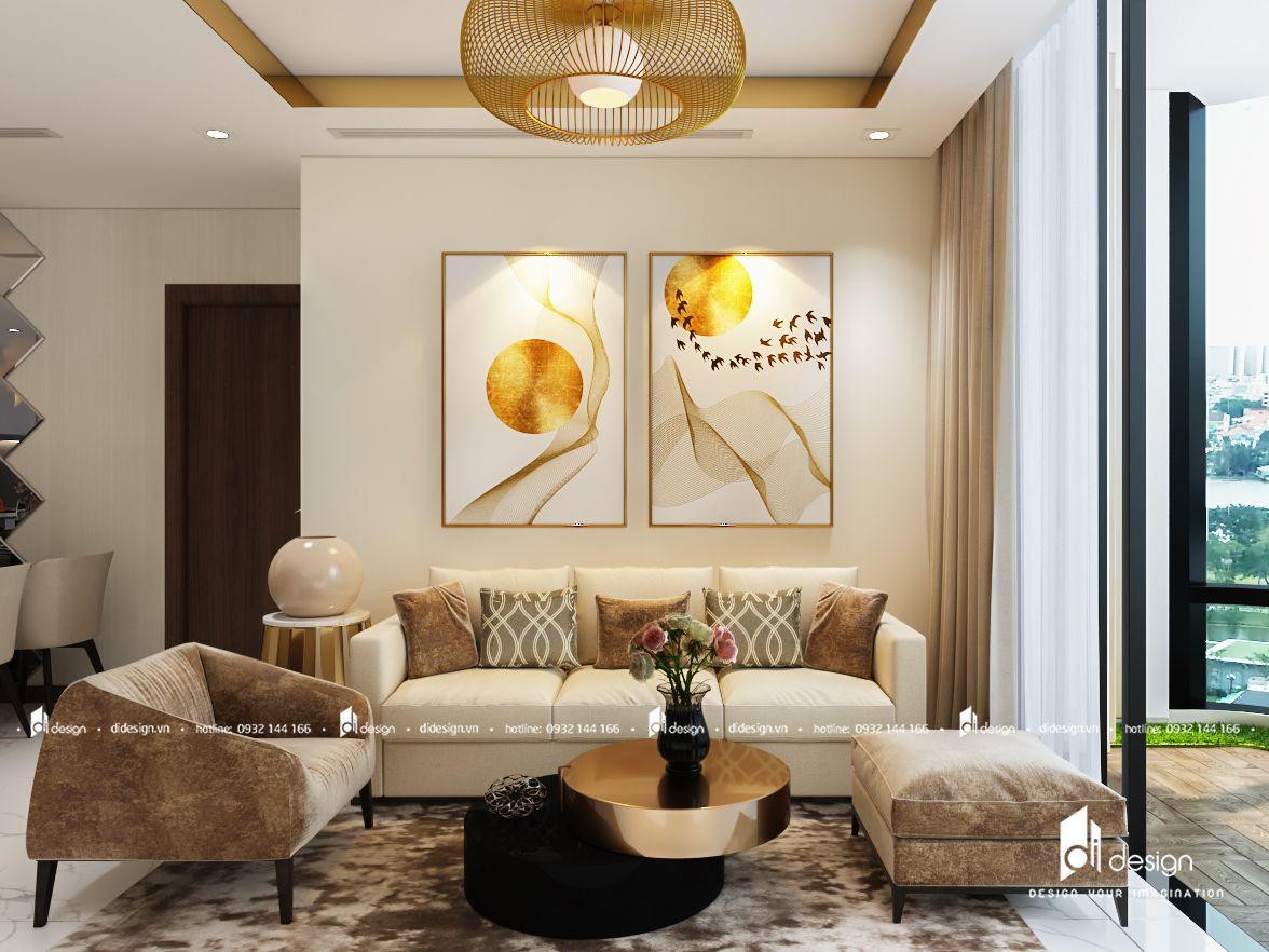 Thiết kế nội thất căn hộ 100m2 Vinhomes Landmark 81