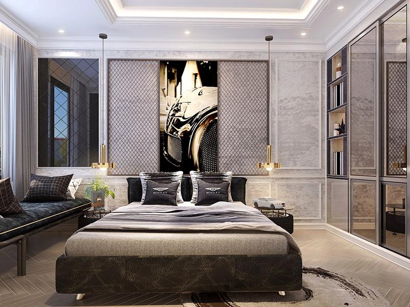 Thiết kế nội thất chung cư Central Premium 97m2