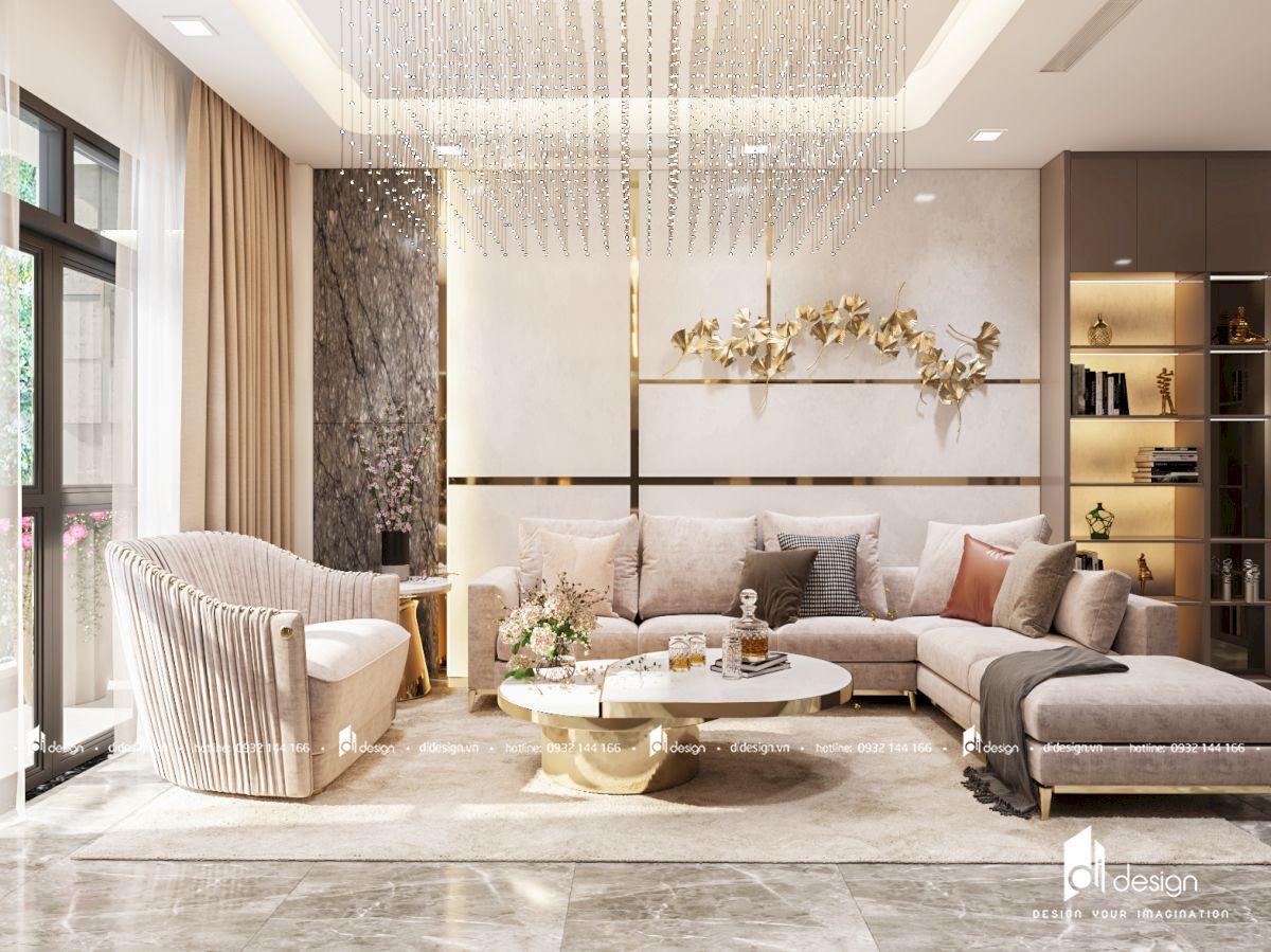 Thiết kế nội thất nhà phố Celadon City sang trọng và ấm cúng