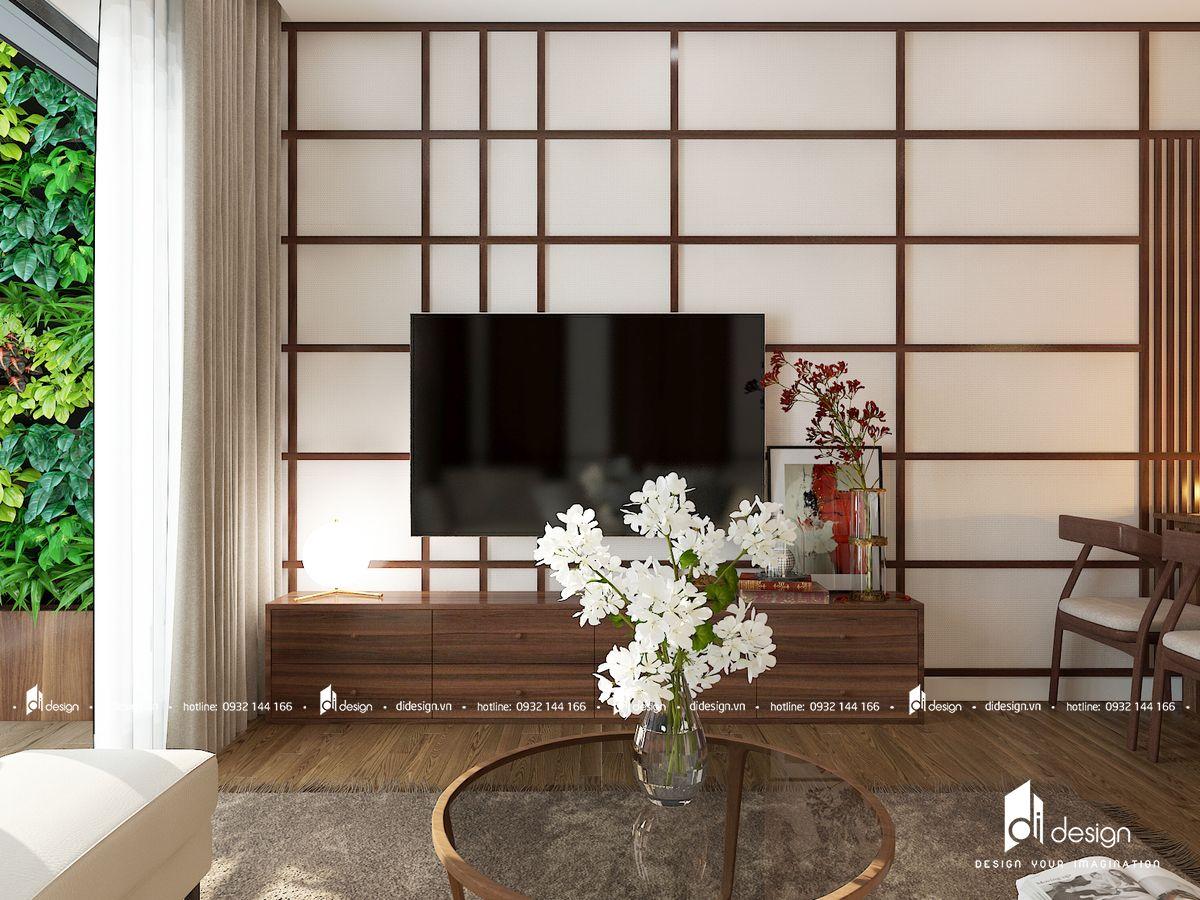 Thiết kế nội thất chung cư Mizuki Park 86m2 kiểu Nhật Bản