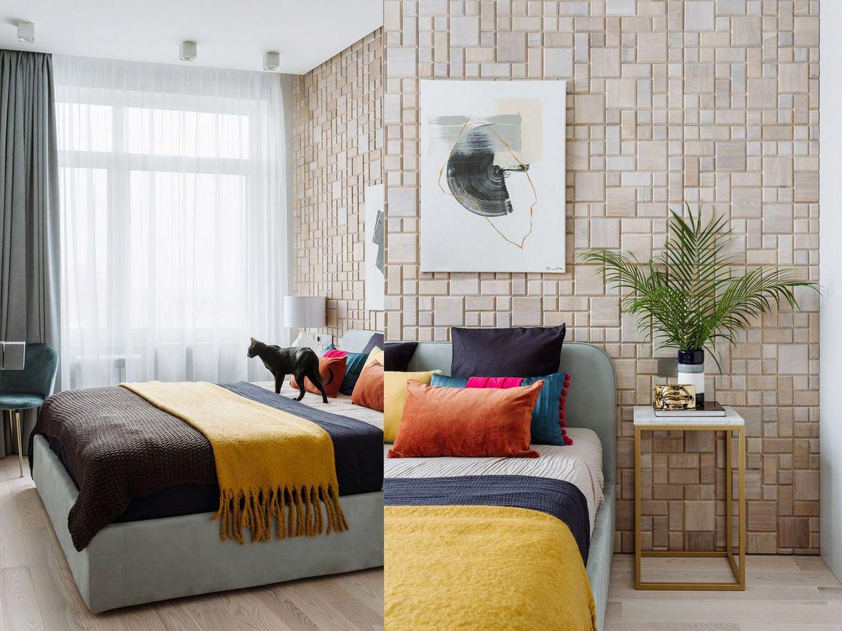 Nội thất căn hộ chung cư Vinhomes Grand Park 69m2 đầy màu sắc