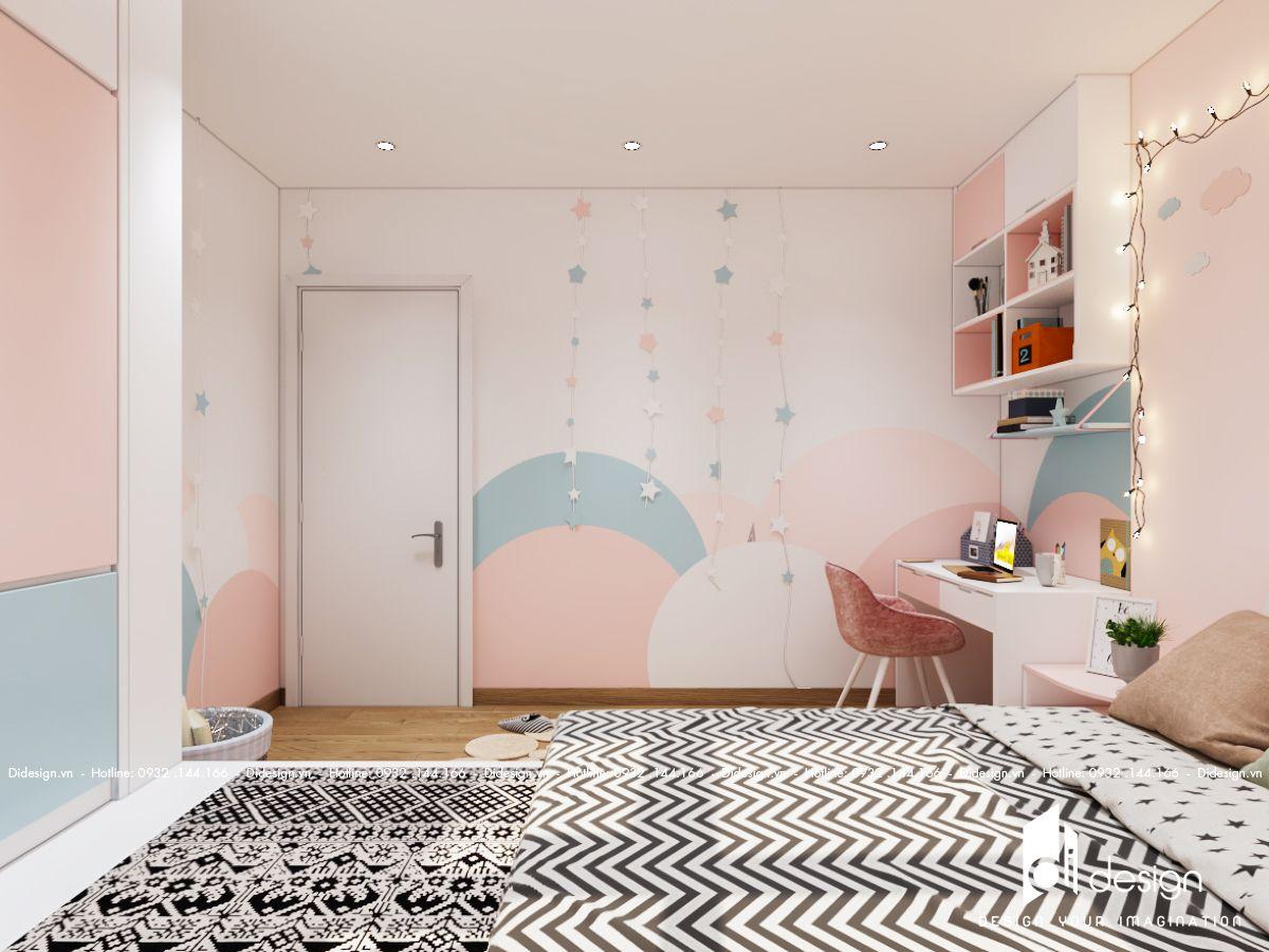 Thiết kế nội thất căn hộ chung cư Ricca 77m2