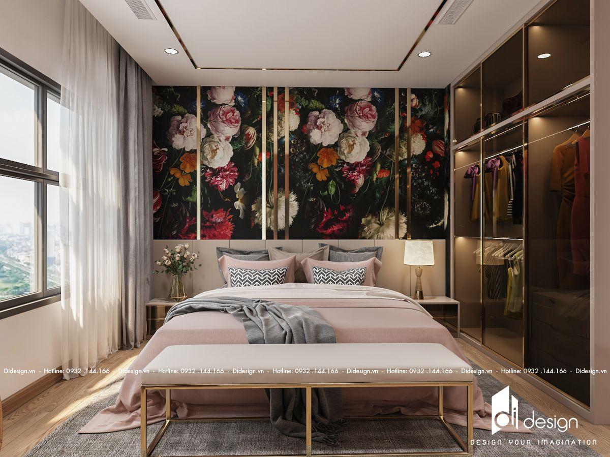 Thiết kế nội thất chung cư Sunwah Pearl 122m2 sang trọng