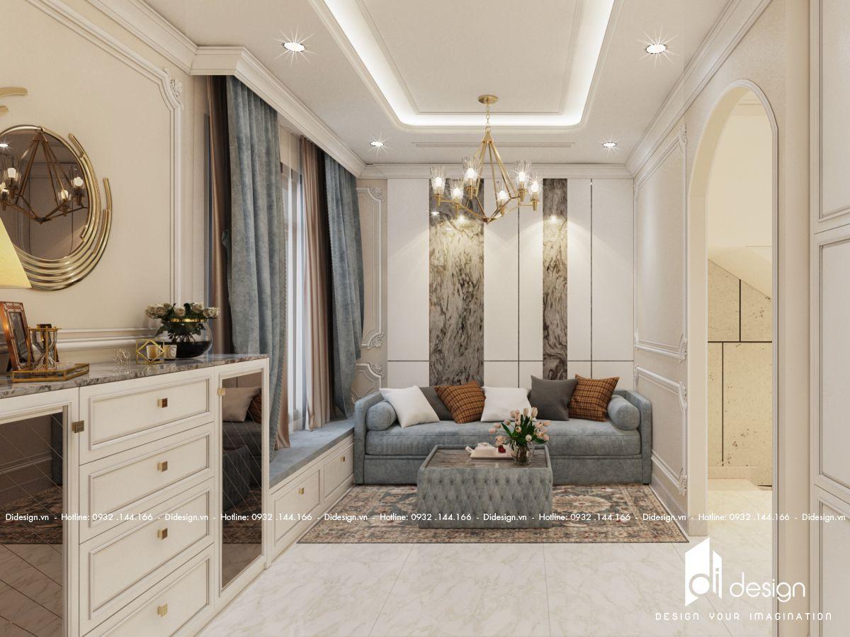 Thiết kế nội thất nhà phố Verosa Park 200m2 đẳng cấp sang chảnh