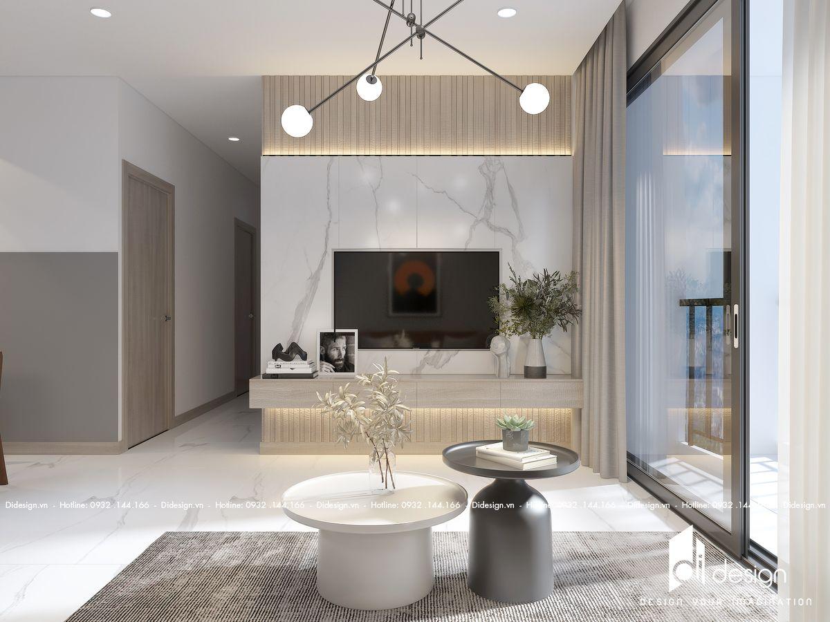 Thiết kế căn hộ chung cư Diamond Brilliant quận Tân Phú