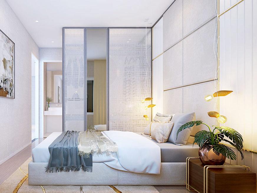Thiết kế nội thất căn hộ chung cư Gem Premium 79m2
