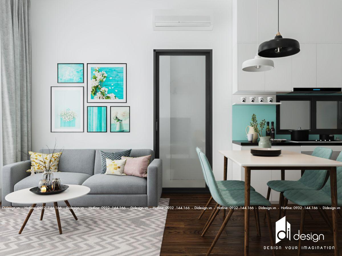 Thiết kế nhà chung cư theo phong cách đơn giản