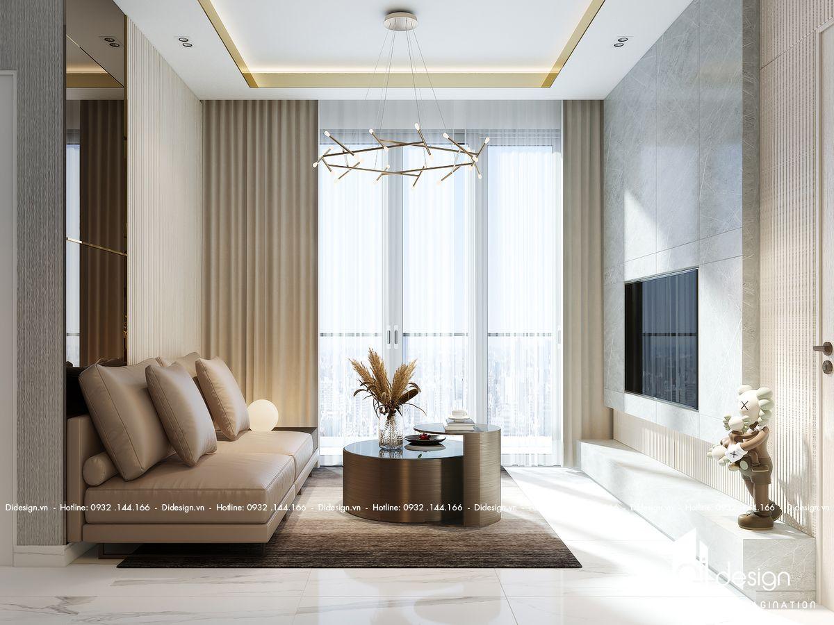 Thiết kế căn hộ Sunshine City Sài Gòn 118m2 cao cấp 5 sao