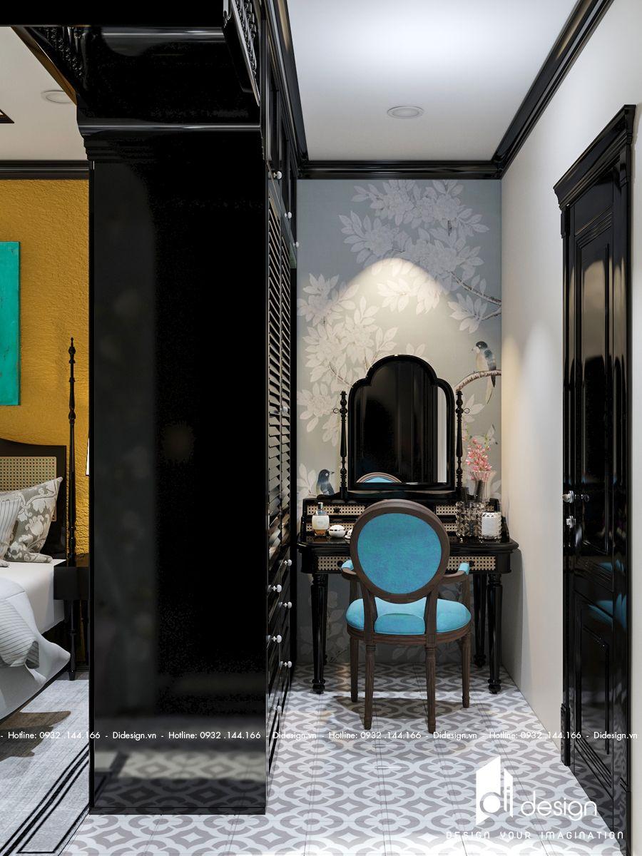 Thiết kế căn hộ Somerset Feliz 109m2 phong cách Đông Dương