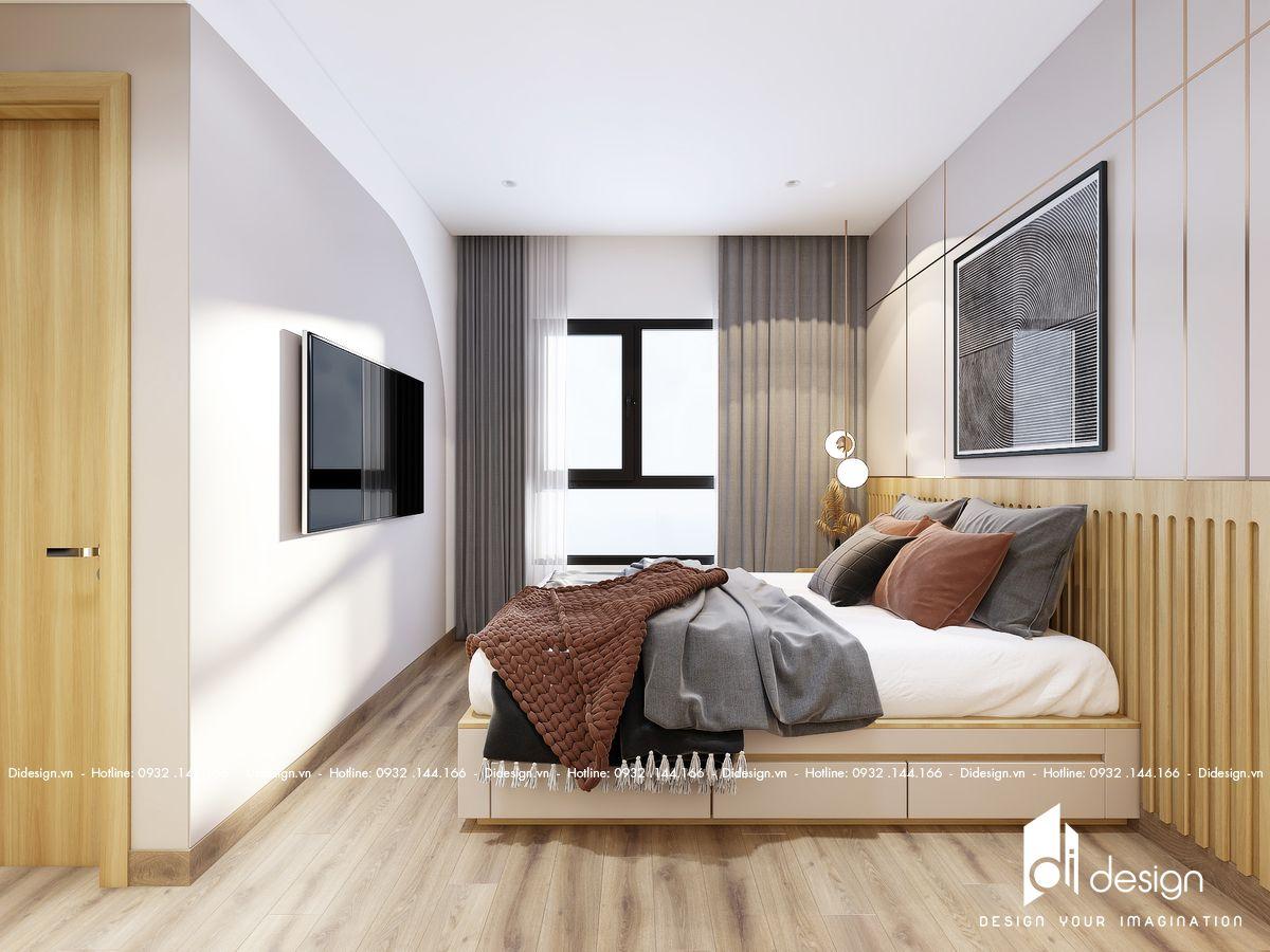 """Nhận bàn giao nhà trống, KTS đã """"nhào nặn"""" ra căn hộ 78m² rất ấm cúng"""