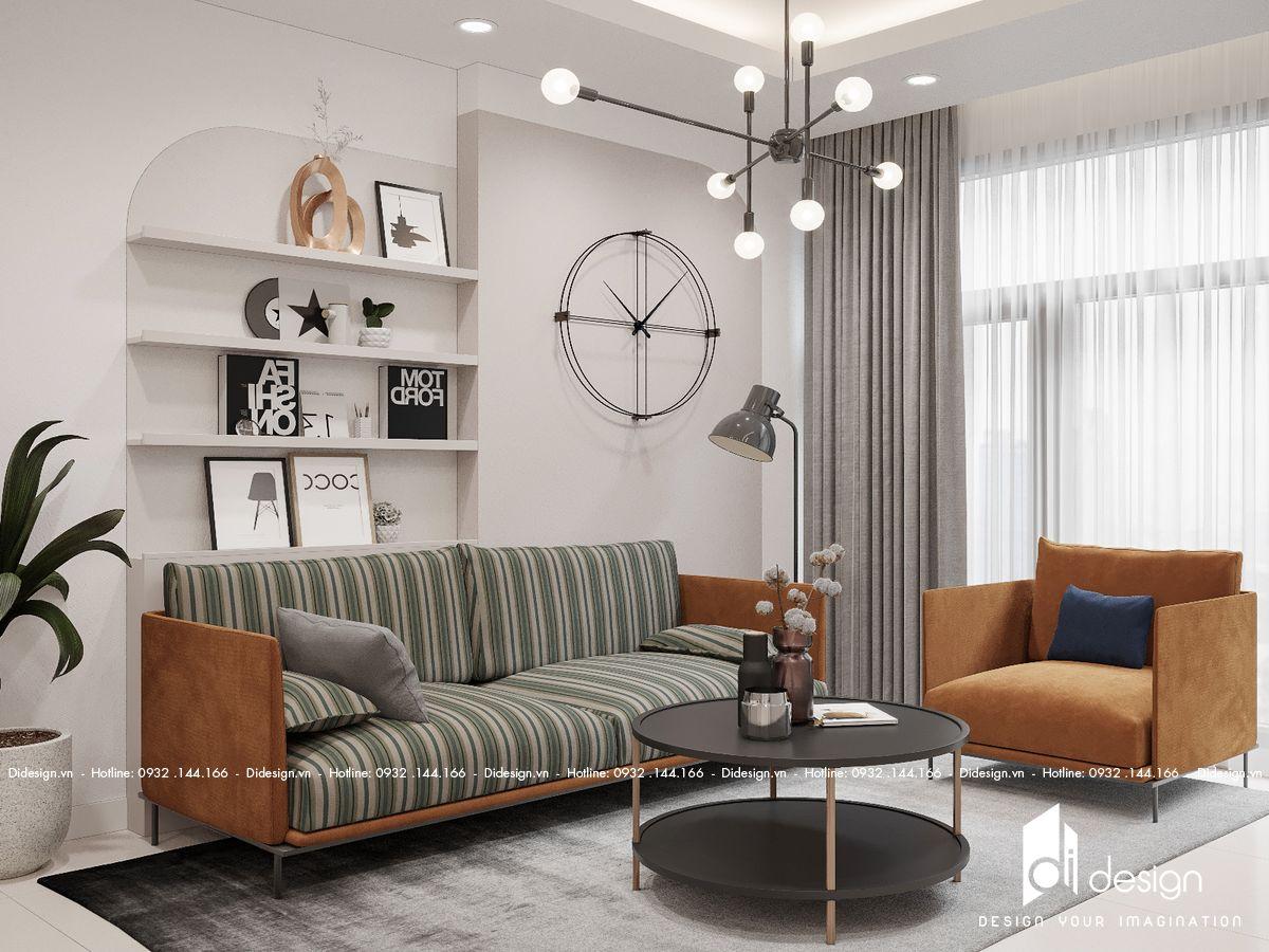 Thiết kế nội thất căn hộ 70m2 The Penta tối ưu không gian