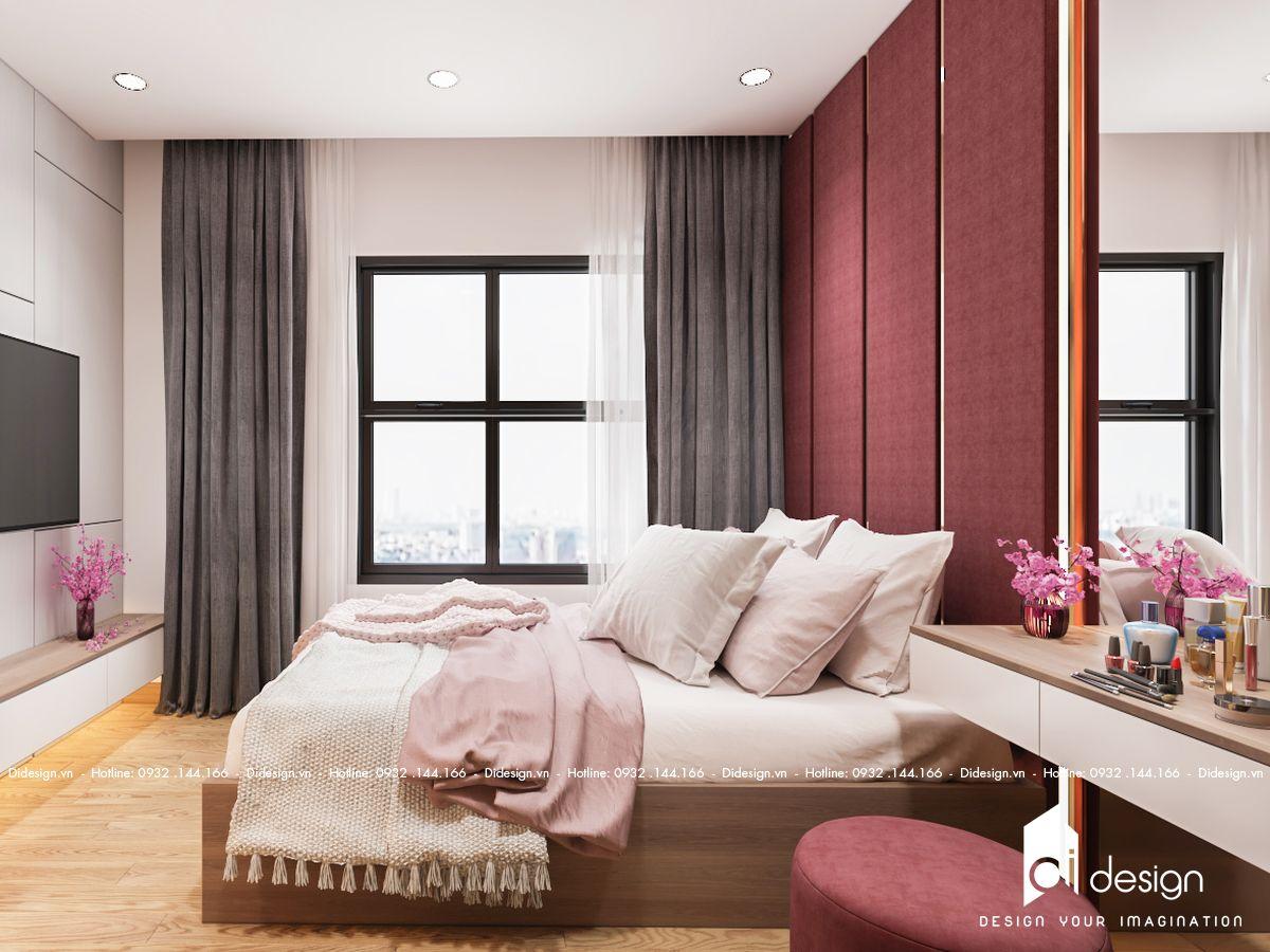 Thiết kế nội thất căn hộ Diamond Riverside đẹp như mơ