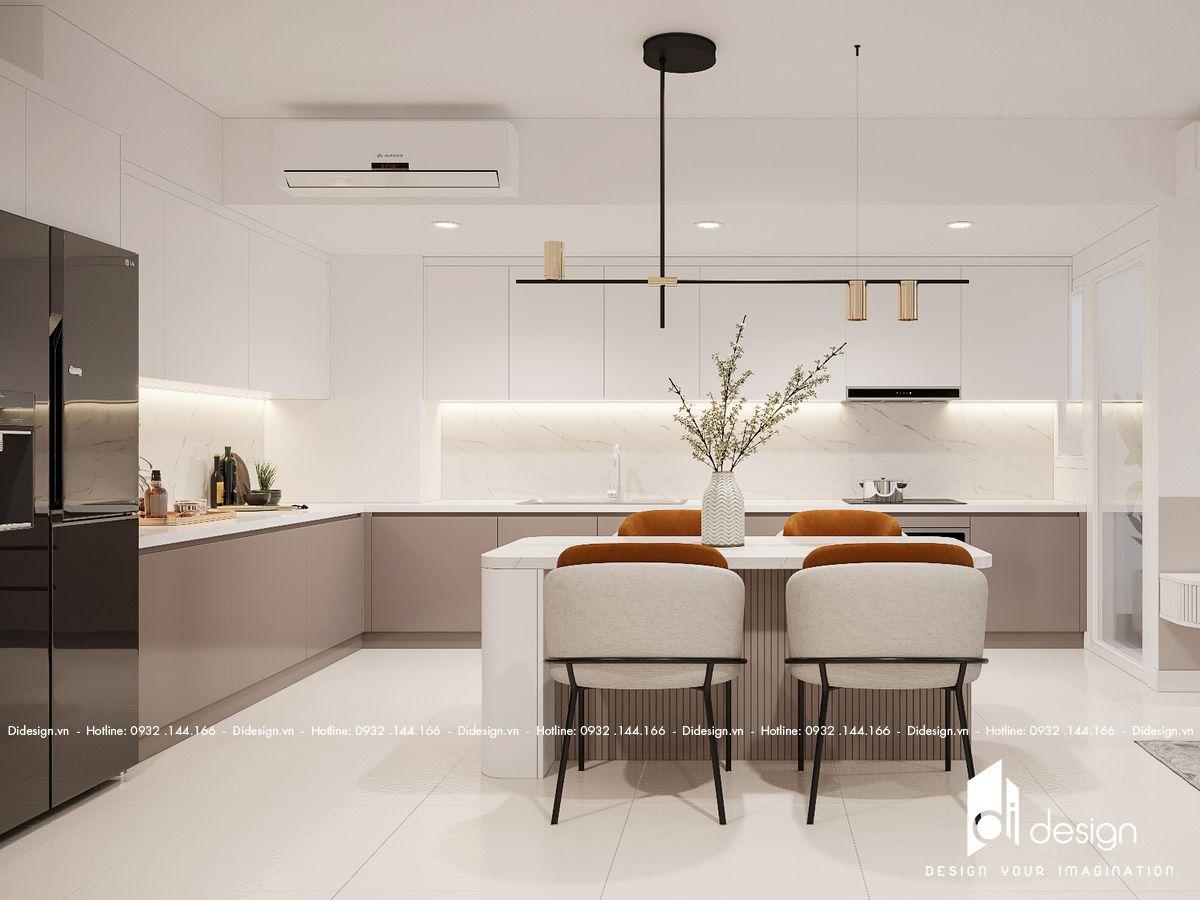 Thiết kế nội thất chung cư Estella Height 93m2