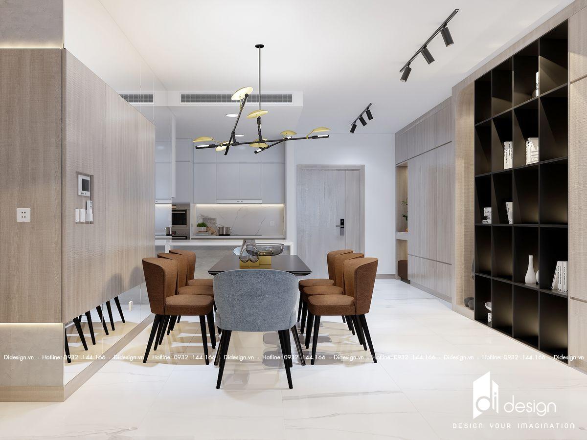 Thiết kế căn hộ Cardinal Court 70m2 Quận 7