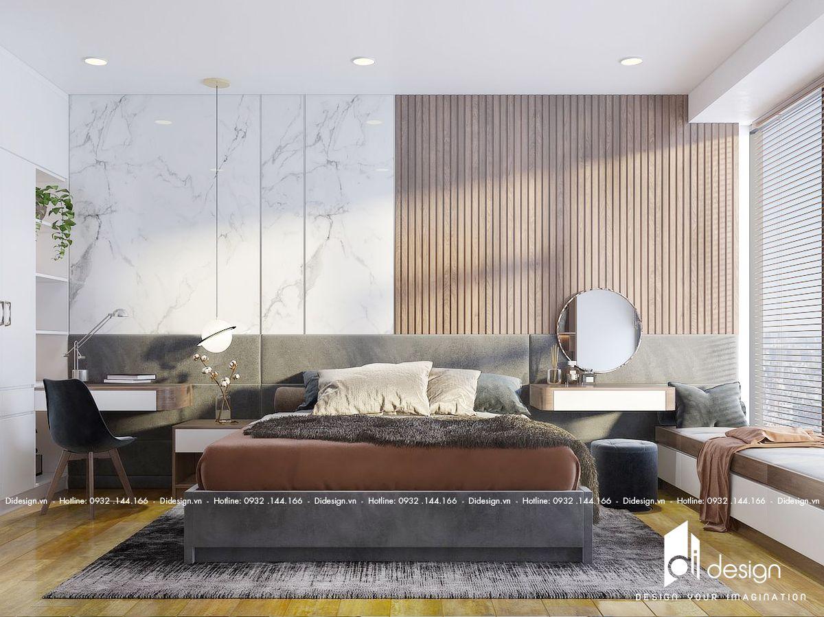 Thiết kế nội thất căn hộ Diamond Centery 86m2