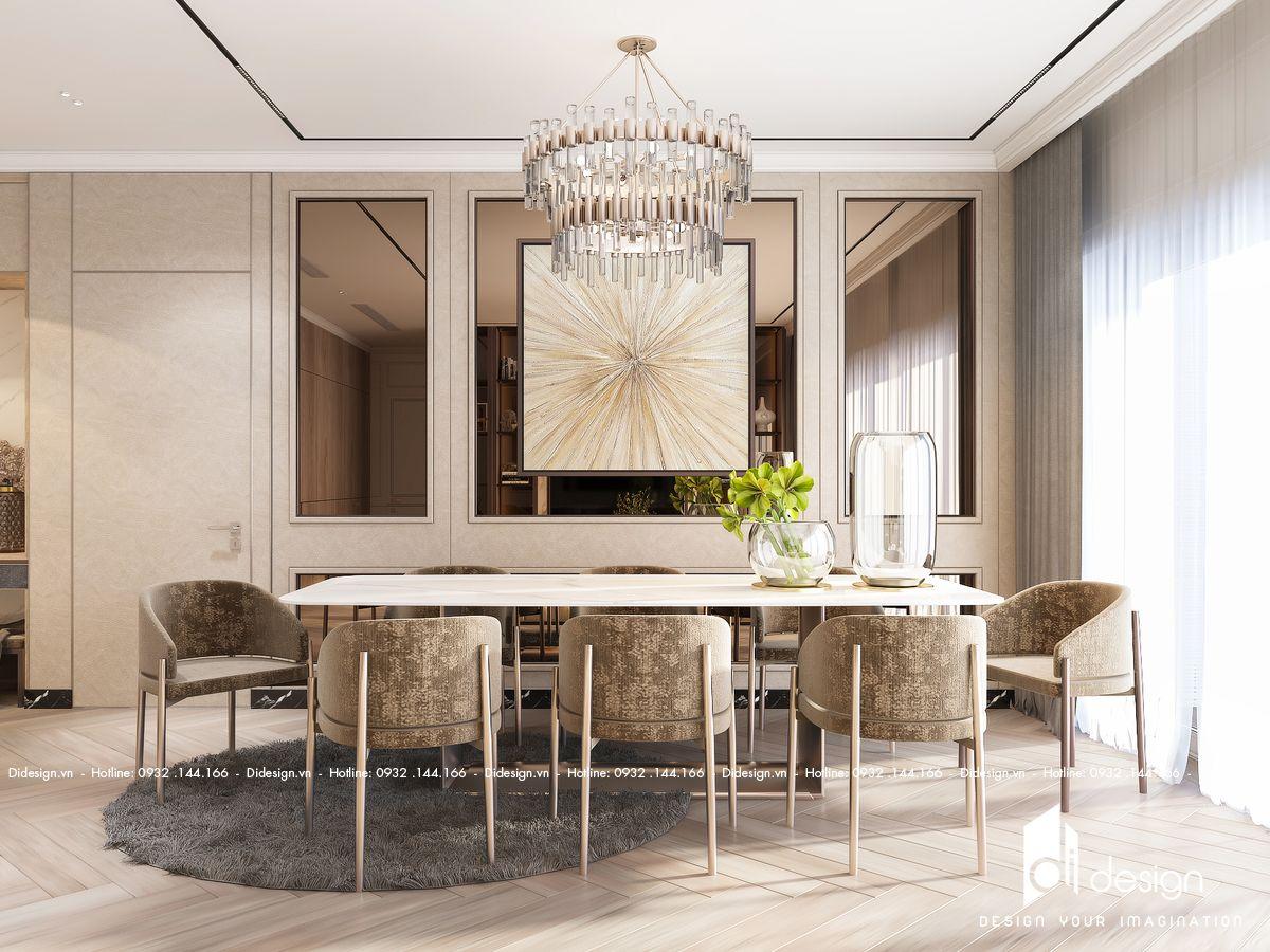 Thiết kế nội thất căn hộ Sunshine Continental 106m2 sang trọng