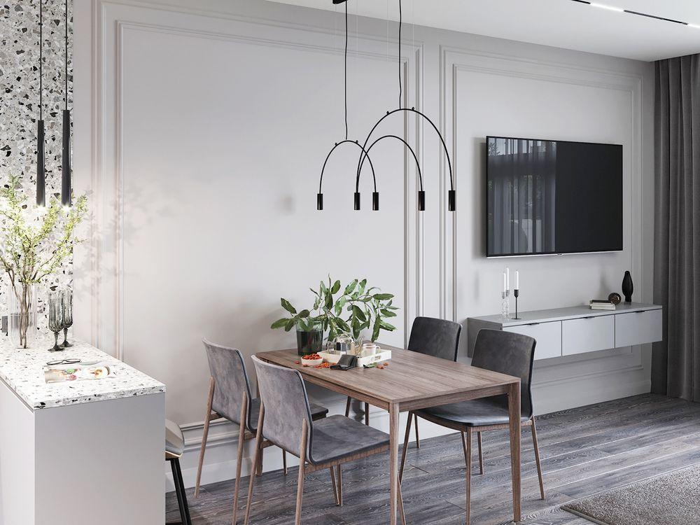 Thiết kế nội thất căn hộ The Penta 50m2